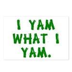 I Yam What I Yam Postcards (Package of 8)
