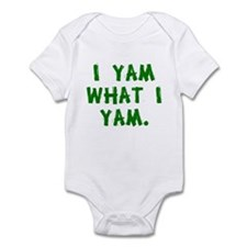 I Yam What I Yam Infant Bodysuit