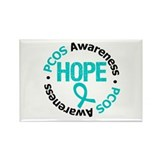 PCOS Hope Rectangle Magnet (10 pack)