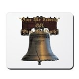 Cute Give me liberty constitution Mousepad
