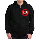 Anti-Hillary Clinton Zip Hoodie