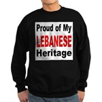Proud Lebanese Heritage Sweatshirt (dark)