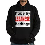 Proud Lebanese Heritage Hoodie (dark)
