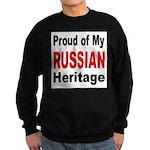 Proud Russian Heritage Sweatshirt (dark)