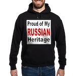 Proud Russian Heritage Hoodie (dark)