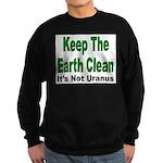 Keep the Earth Clean Sweatshirt (dark)