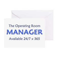 OR Manager Greeting Card