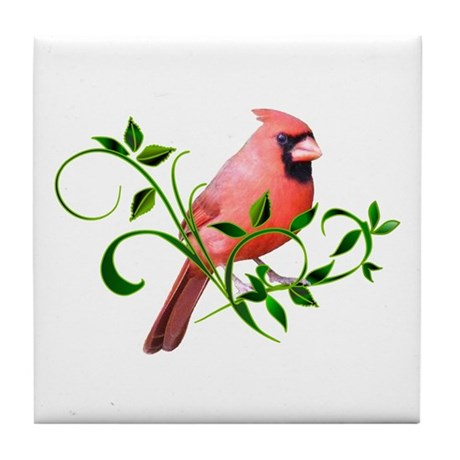 CARDINAL Tile Coaster