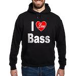 I Love Bass Hoodie (dark)
