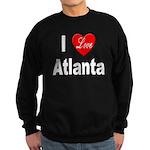 I Love Atlanta Sweatshirt (dark)