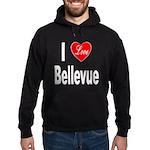 I Love Bellevue Hoodie (dark)