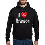 I Love Branson Missouri Hoodie (dark)