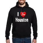 I Love Houston Hoodie (dark)