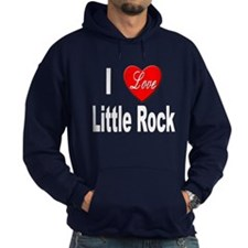 I Love Little Rock Arkansas Hoodie