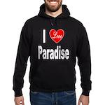 I Love Paradise Hoodie (dark)