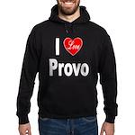 I Love Provo Hoodie (dark)