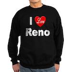 I Love Reno Nevada Sweatshirt (dark)