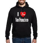 I Love San Francisco Hoodie (dark)