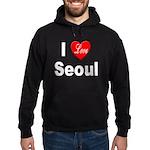 I Love Seoul South Korea Hoodie (dark)