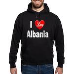 I Love Albania Hoodie (dark)