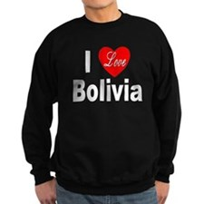 I Love Bolivia Sweatshirt
