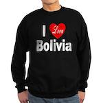 I Love Bolivia Sweatshirt (dark)