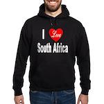 I Love South Africa Hoodie (dark)