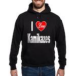I Love Kamikazes Hoodie (dark)