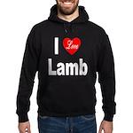 I Love Lamb Hoodie (dark)