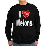 I Love Melons Sweatshirt (dark)