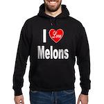 I Love Melons Hoodie (dark)