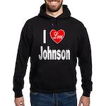 I Love Johnson Hoodie (dark)