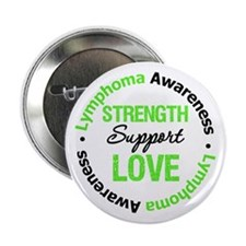"Lymphoma Support 2.25"" Button"