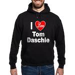 I Love Tom Daschle Hoodie (dark)