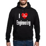 I Love Engineering Hoodie (dark)