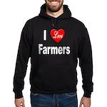 I Love Farmers Hoodie (dark)