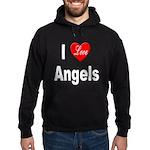I Love Angels Hoodie (dark)