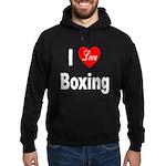 I Love Boxing Hoodie (dark)
