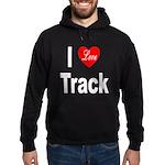 I Love Track Hoodie (dark)