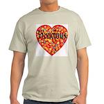 Vivacious Ash Grey T-Shirt