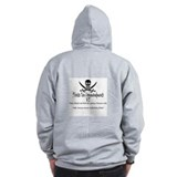 Pirate Commandment VI Zip Hoodie