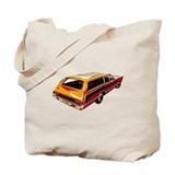 Family Wagon Tote Bag