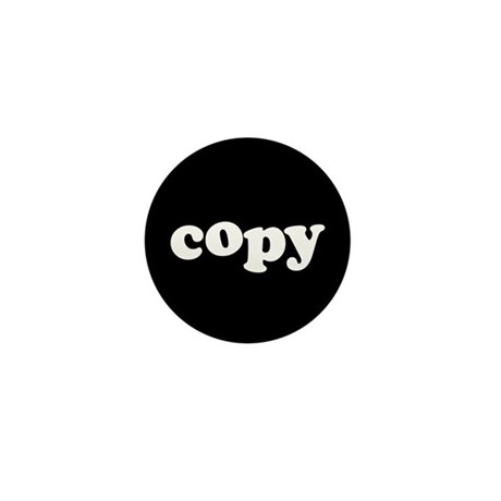 Copy Mini Button (10 pack)