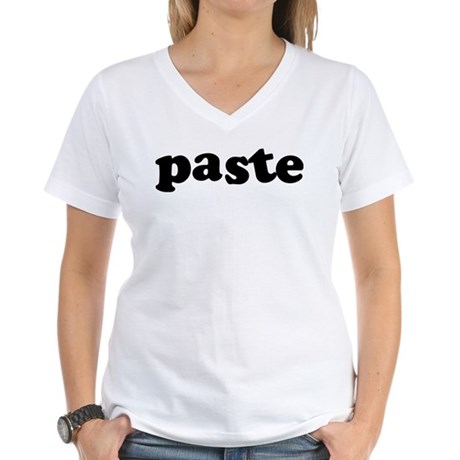 Paste Women's V-Neck T-Shirt