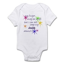Wrapped around my finger Infant Bodysuit