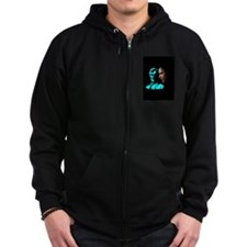 Cool Obama lincoln Zip Hoodie