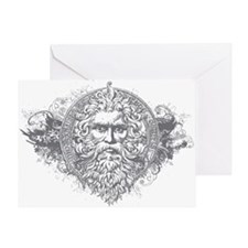 Greek Mythology Greeting Card