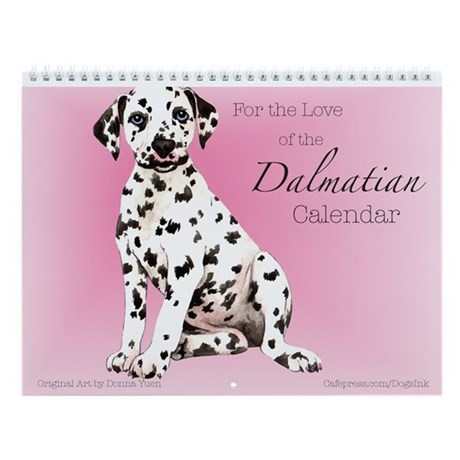 Dalmatian Wall Calendar