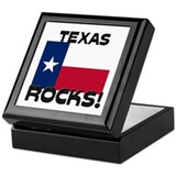 Texas Rocks! Keepsake Box