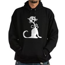 1950's Singing Black Cat Hoody